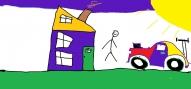 """Oskars Pastars, 3.kl. """"Mana māja"""""""